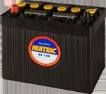 Batterie ébonite